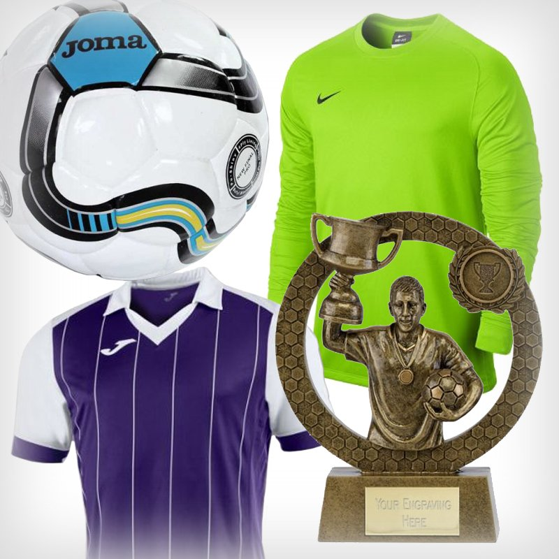 Football Kits and Trophies from JJ Leisure