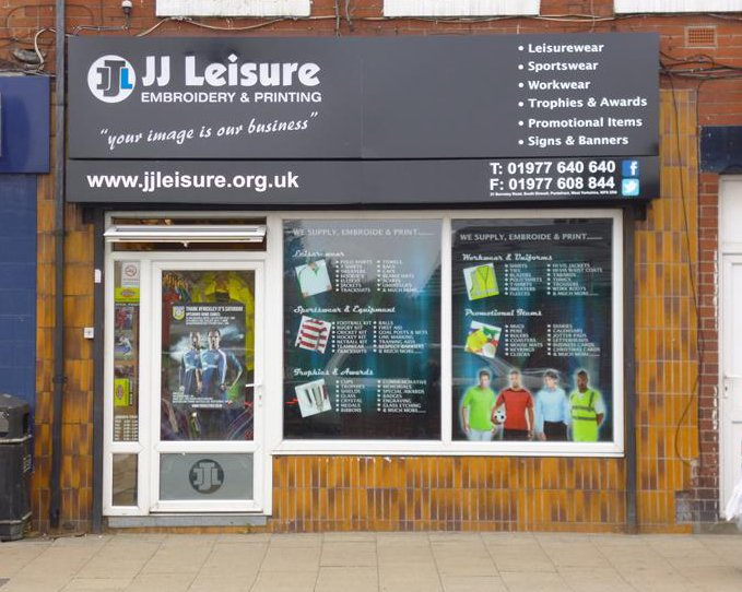 JJ Leisure shop front